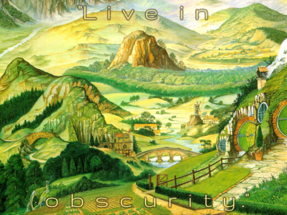 Live in Obscurity