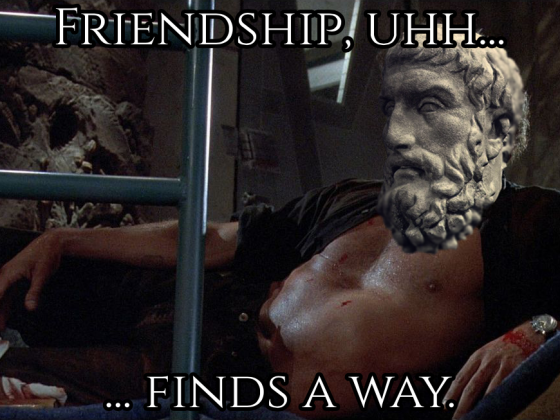 Friendship Finds a Way
