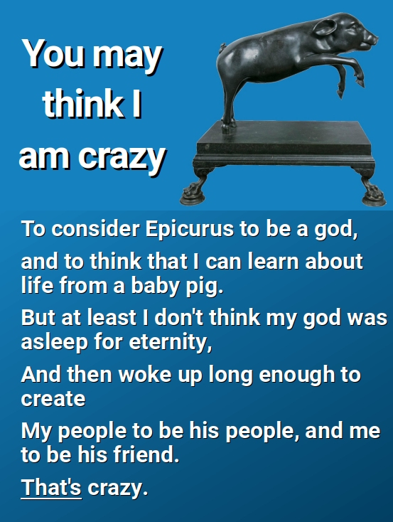 You may think that I am crazy...