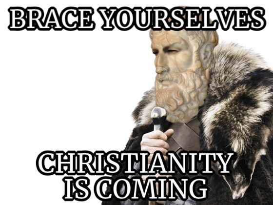 Christianity Is Coming