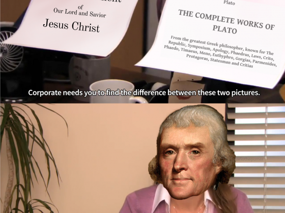 Jefferson: They're the Same Picture