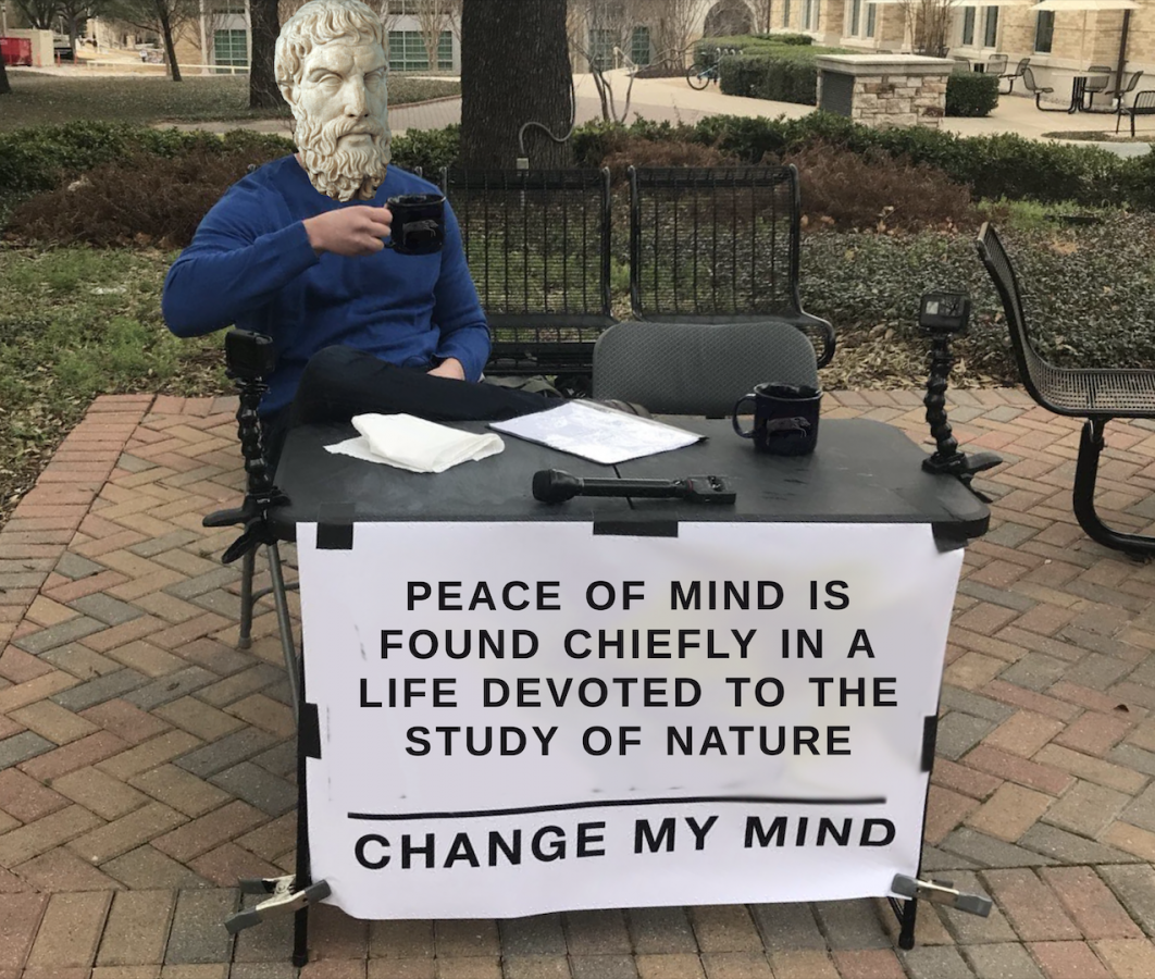 Peace Found in Study of Nature: Change My Mind