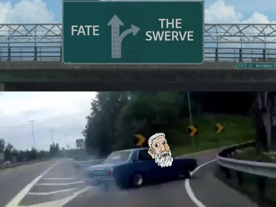 Swerve Left Exit 12 Off Ramp