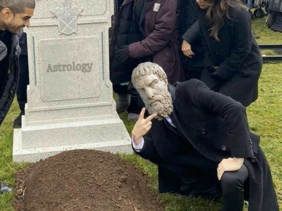 Epicurus Over Astrology's Grave