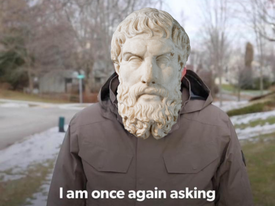 Epicurus Is Once Again Asking Template