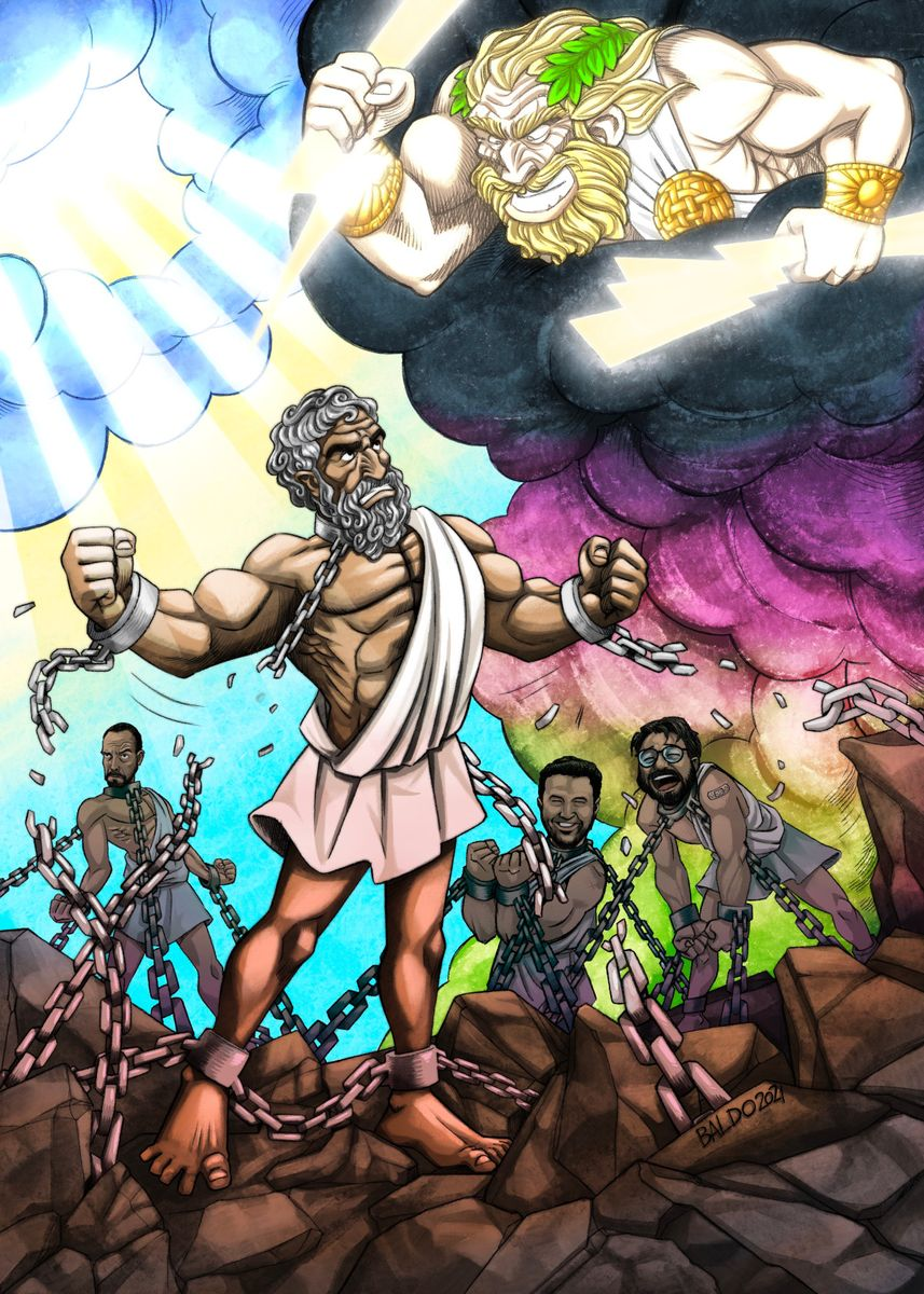 Epicurus Breaking the Chains of Religion - By David Baldoni