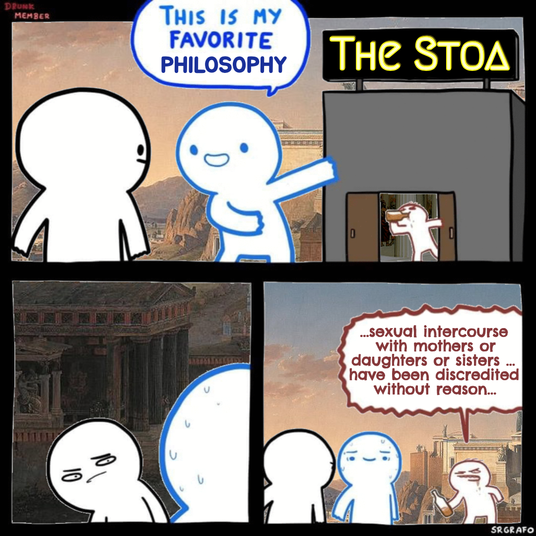 The Stoa is My Favorite Philosophy