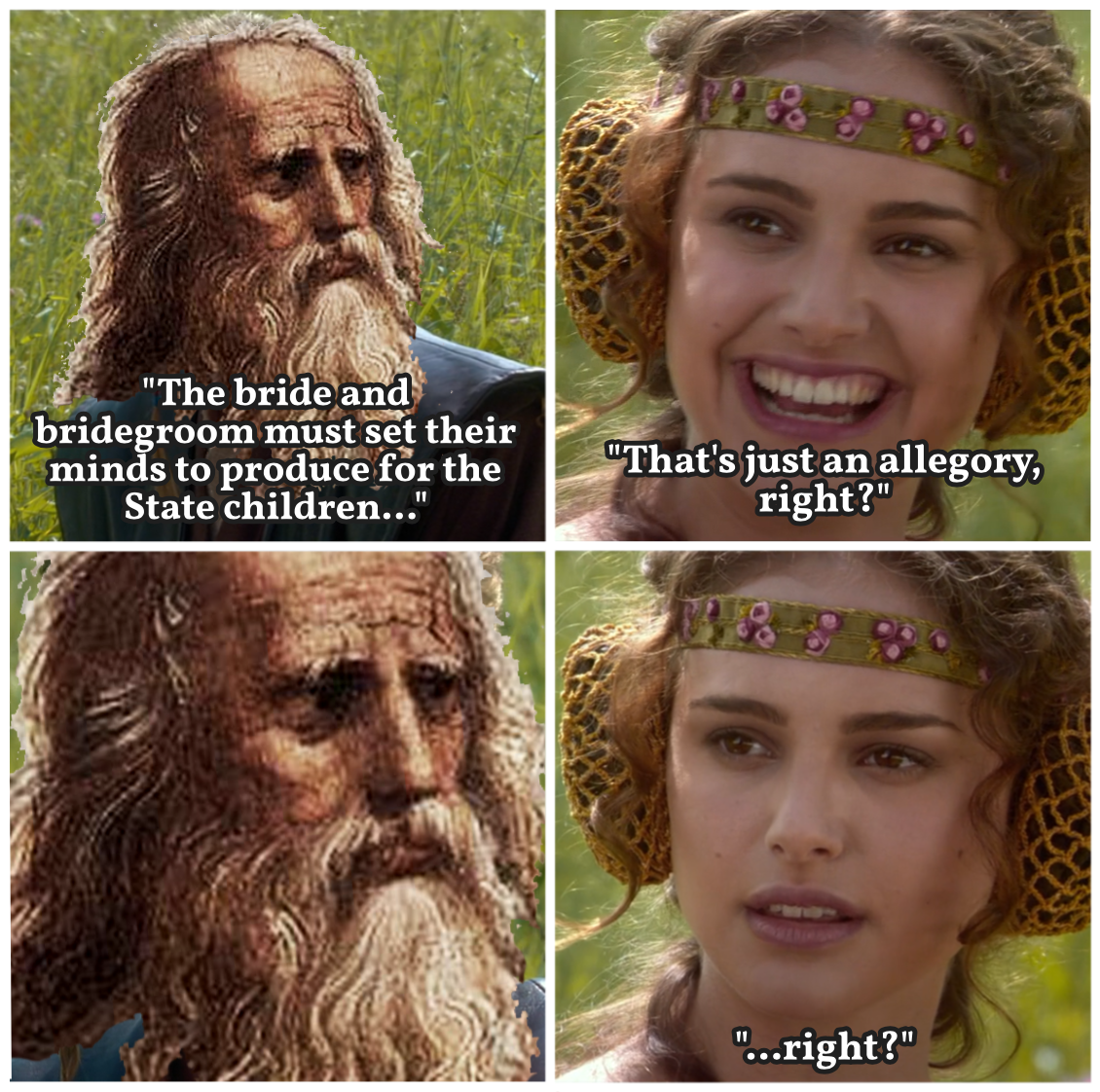 Padme and Plato