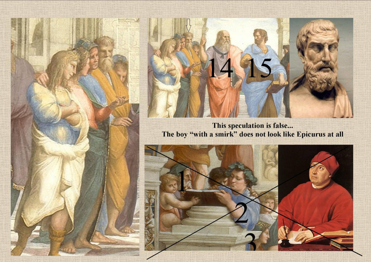"""The True Depiction of Epicurus In """"The School of Athens"""""""
