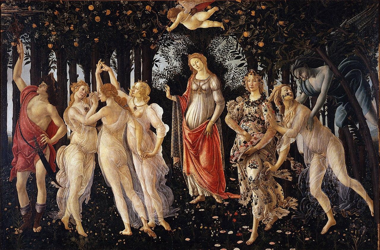 Primavera-Botticelli