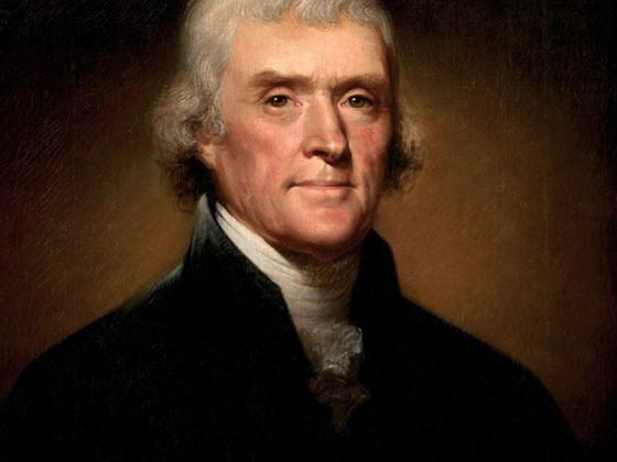 Jefferson - I Too Am An Epicurean