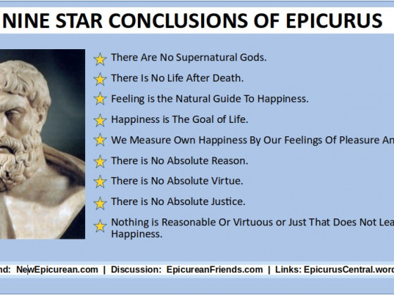 Star Conclusions of Epicurus