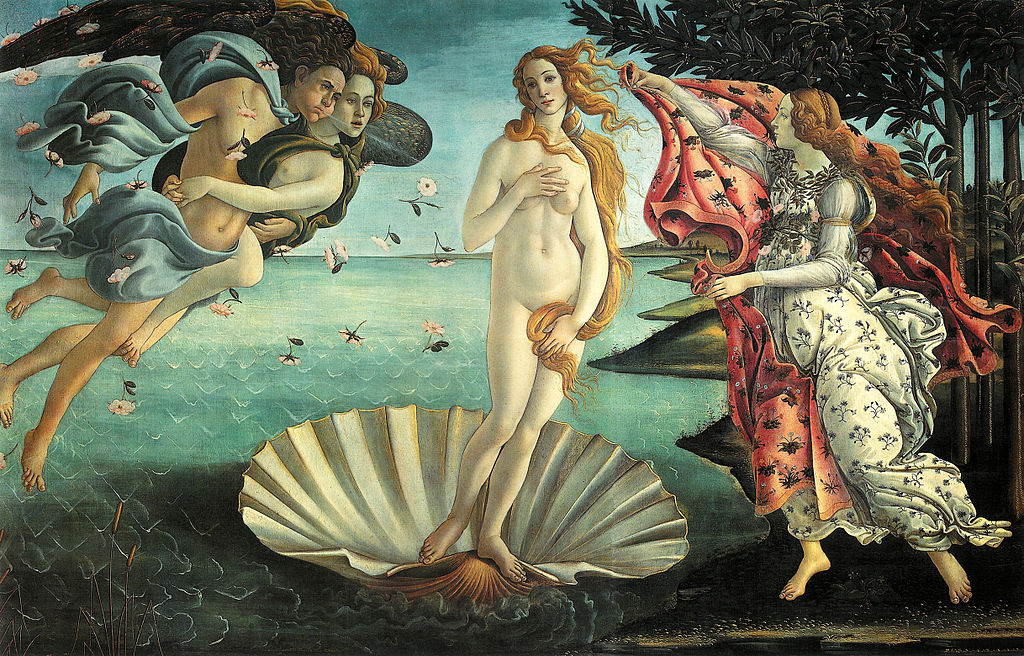 Birth of Venus - Boticelli