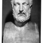 Hermarchus Bust (B&W)