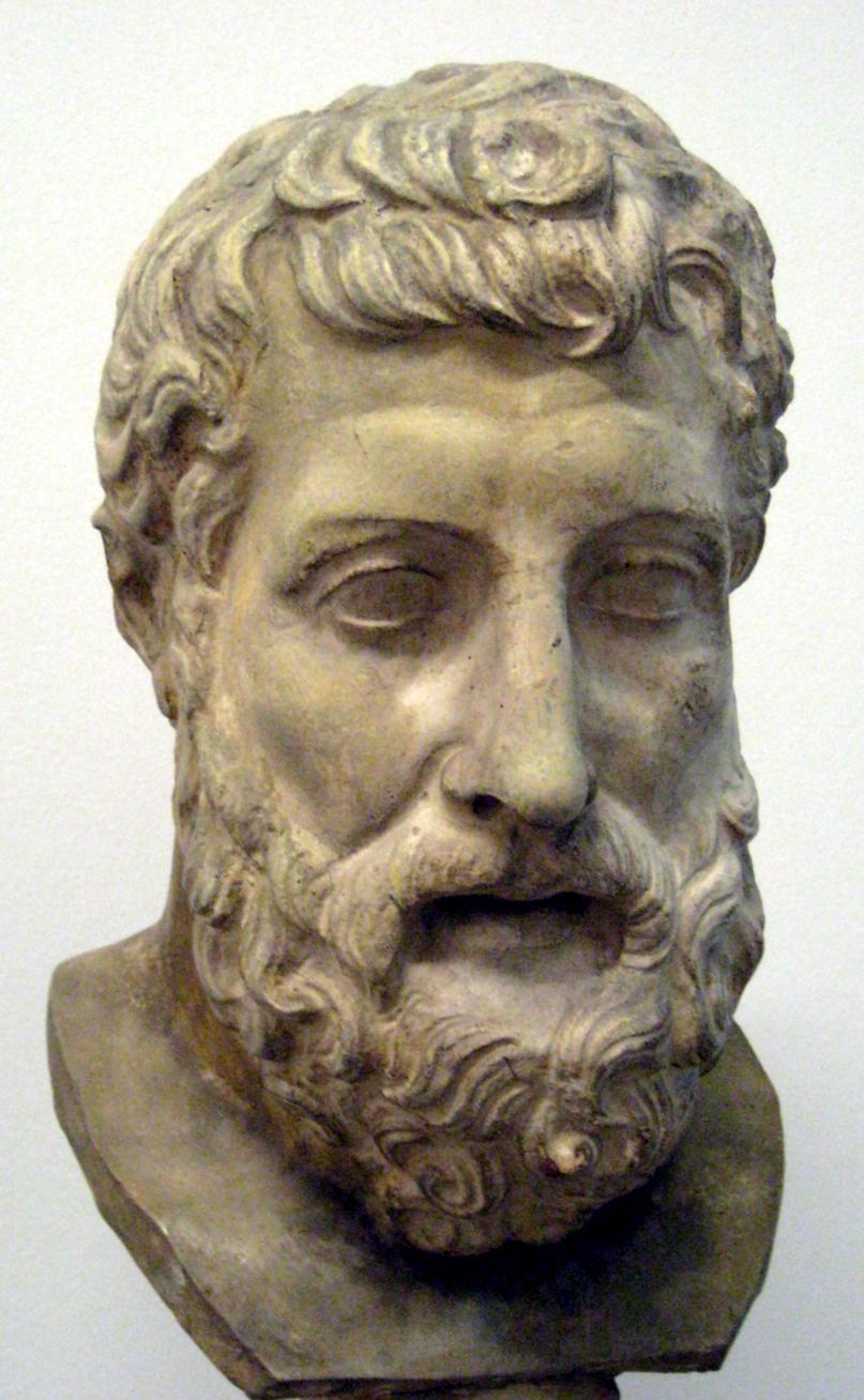 Hermarchus Bust 1