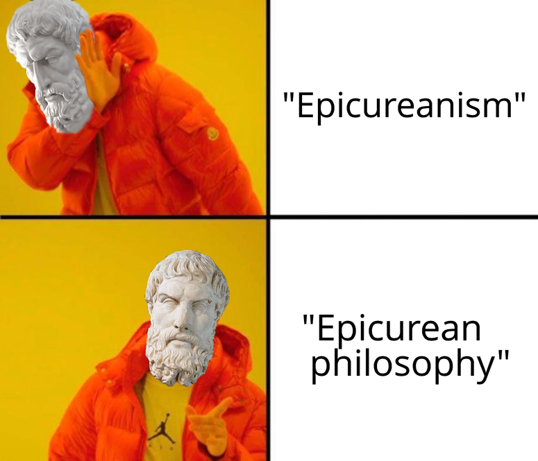 Epicurean Drake Meme Terminology