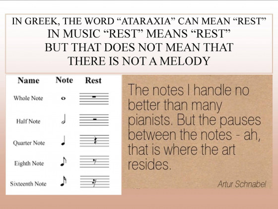 Ataraxia and Rest