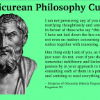 Is Epicurean Philosophy Cultish?