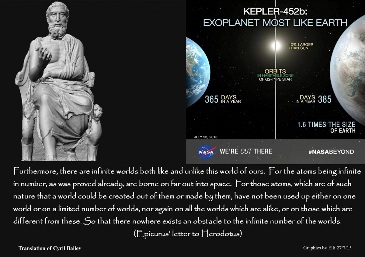 Epicurus On Innumerable Worlds