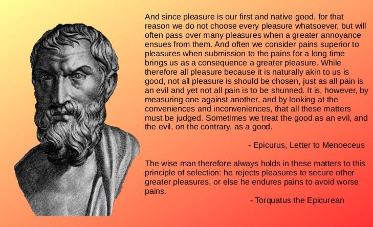 Torquatus / Epicurus / The Intelligent Pursuit of Pleasure