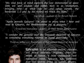 Back of Book - Epicurus as a Modern Best-Selling Author