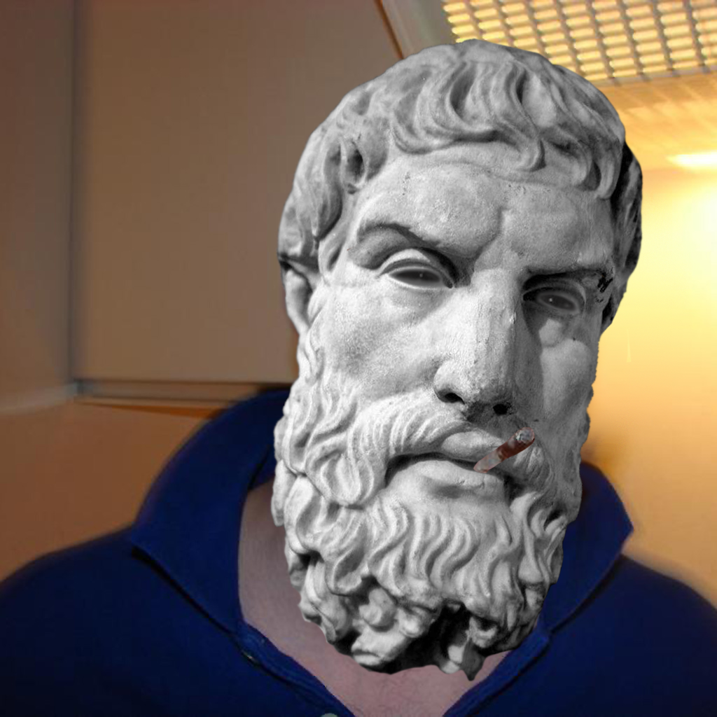Good Guy Epicurus Meme Template