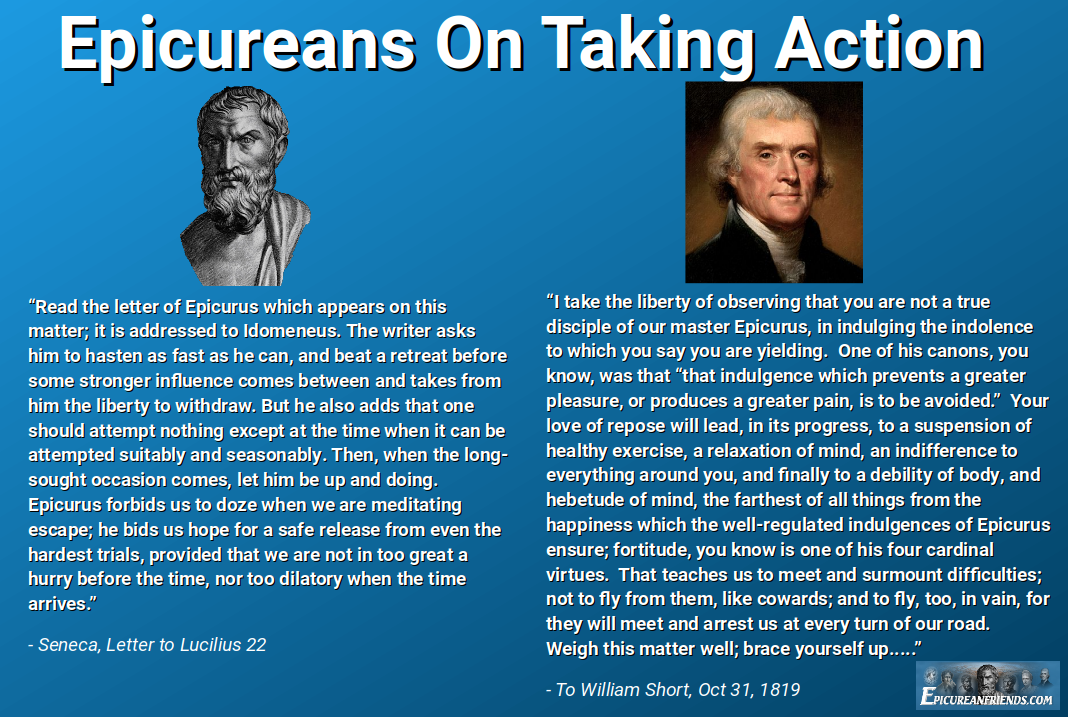 Epicureans On Taking Action