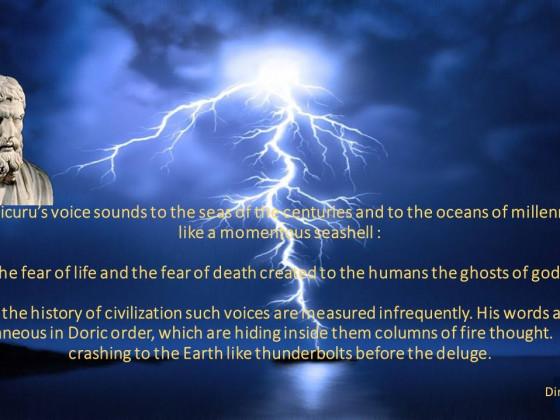 Liantinis - Epicurus - Epicurus' Voice
