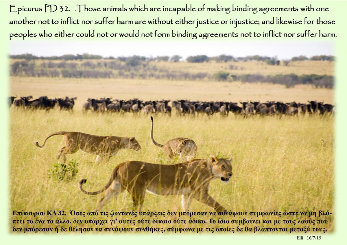 PD 32 - Those Animals Which Are Incapable ...