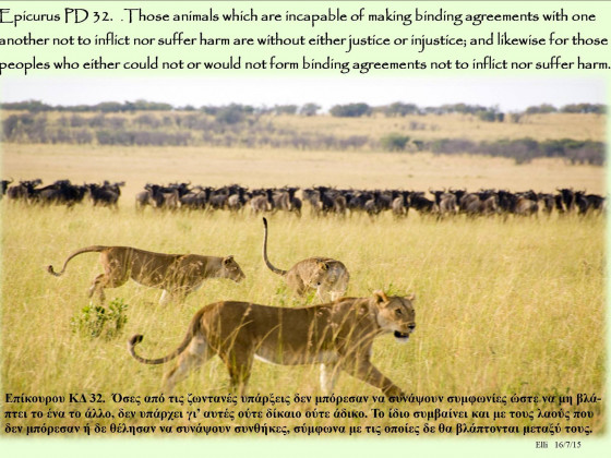 PD32 - Those Animals Which Are Incapable ...