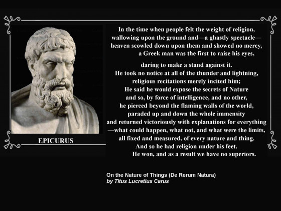 Lucretius - At A Time When Human Life...
