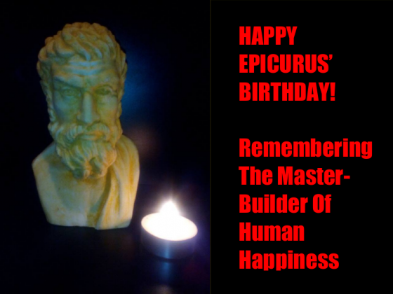 Happy Epicurus' Birthday!