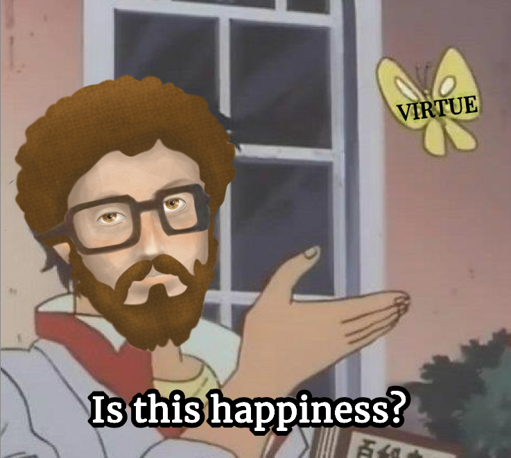 Is [Virtue] Happiness?