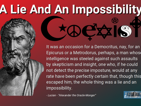 """A Lie And An Impossibility"" - Lucian - Alexander the Oracle Monger"