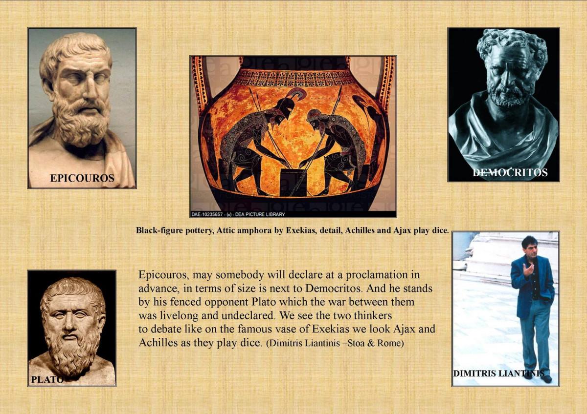 Liantinis - Epicurus vs. Plato