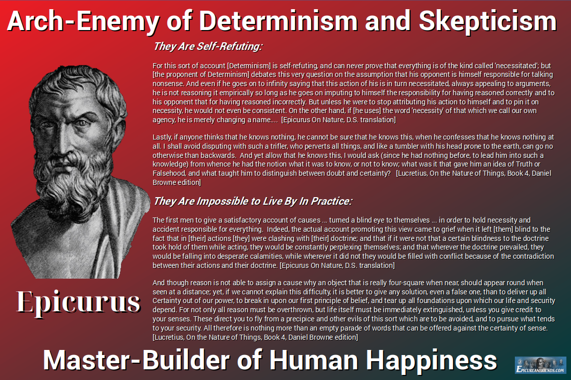 Arch-Enemy of Determinism and Skepticism