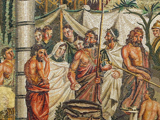 Iphigenia Mosaic