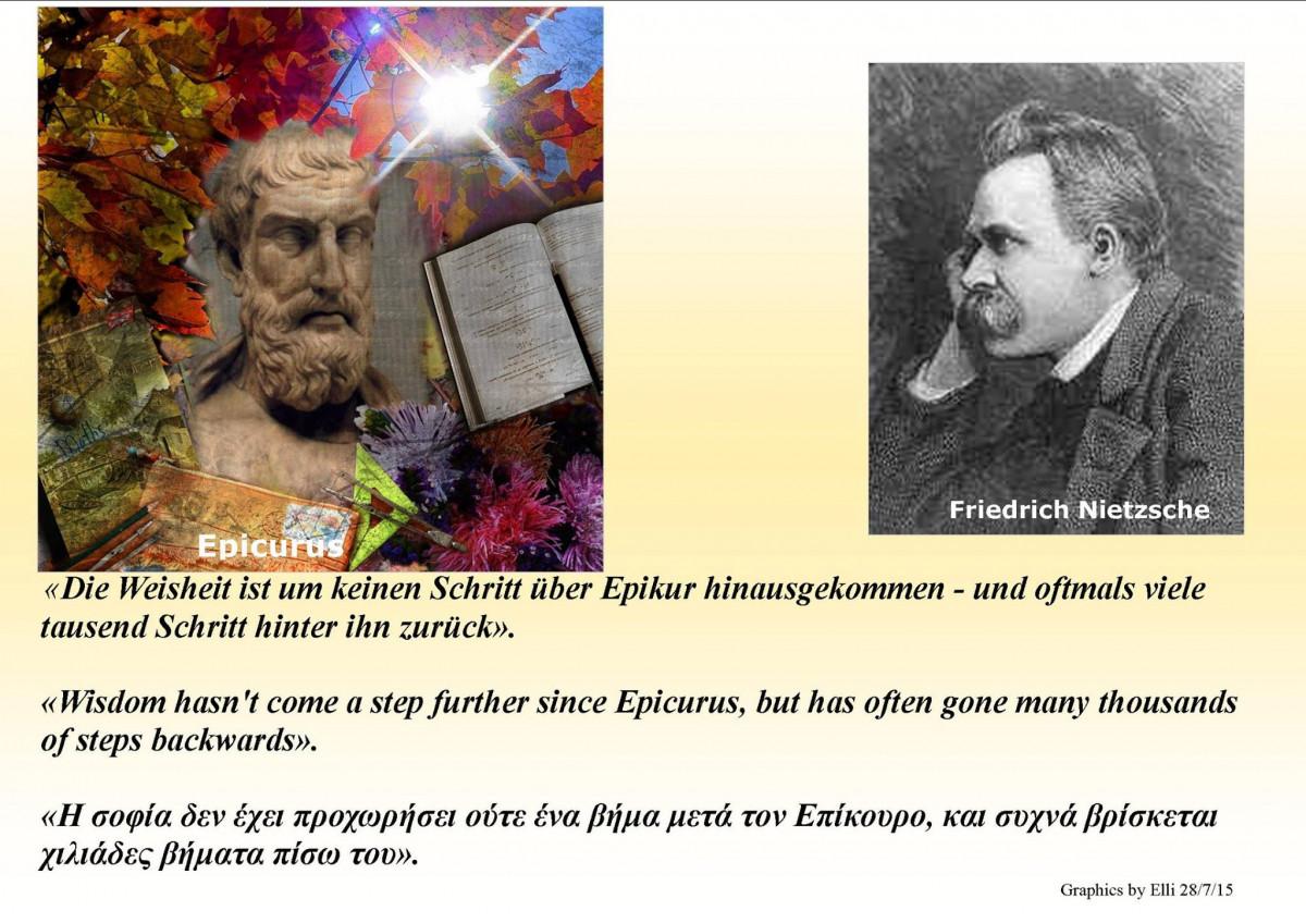 Nietzsche  - Wisdom Has Come No Further Since Epicurus