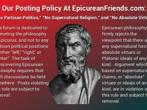 Our Posting Policy At EpicureanFriends.com