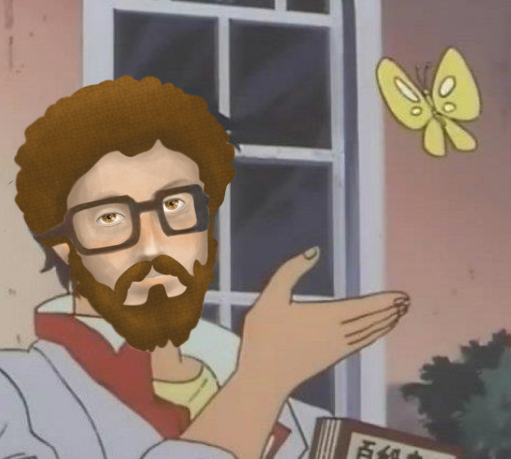 Marcus Aurelius 'Is This a Pigeon?' Meme Template
