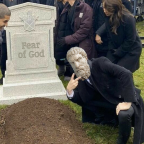 Epicurus Over Fear of God's Grave
