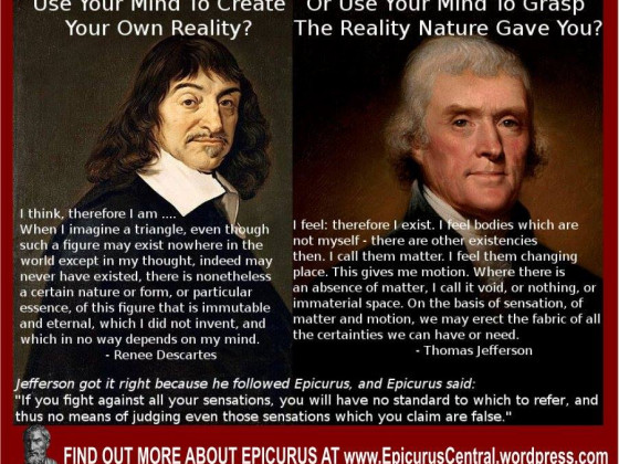 Jefferson v Descartes