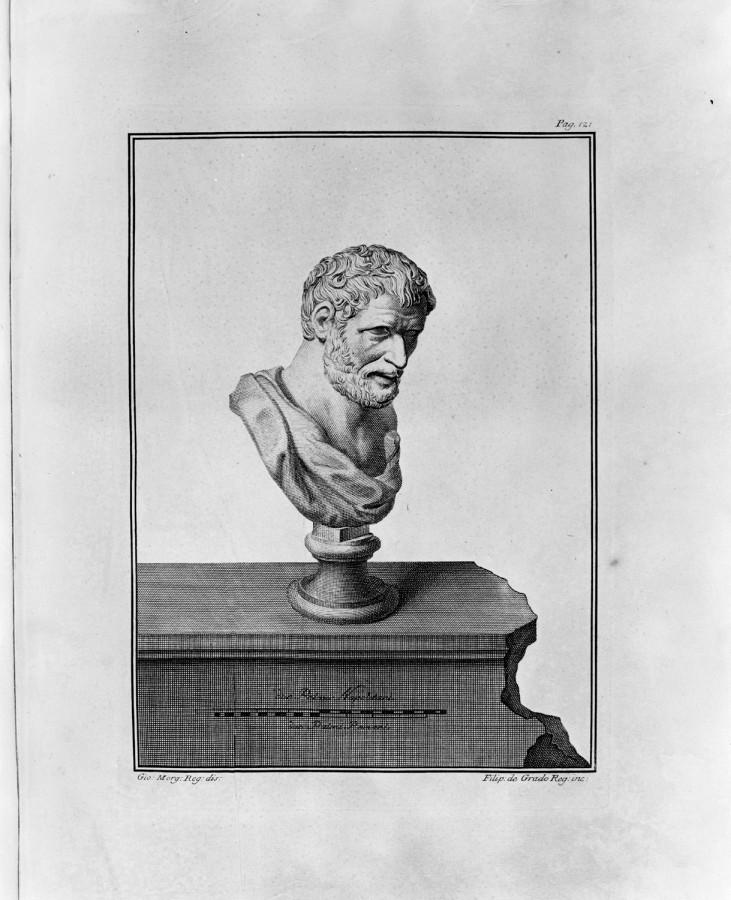 Democritus Etching (Herculaneum)