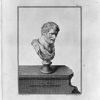 Democritus Etching (Herculaneum)