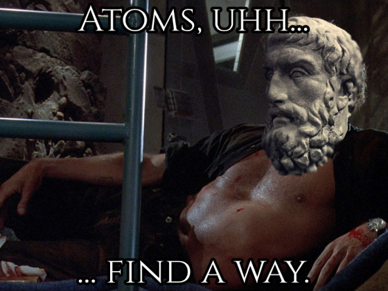 Atoms Find a Way