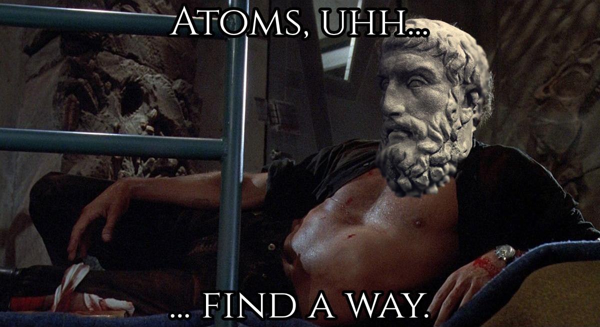 Atoms Find a Way