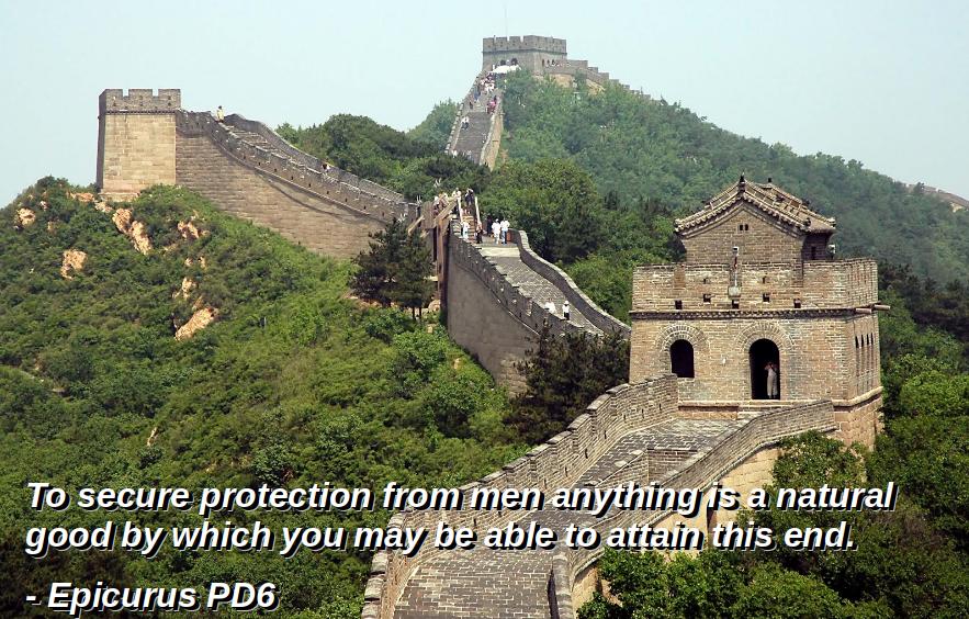 Principal Doctrine Six -  The Great Wall