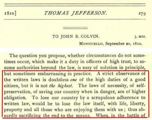 Jefferson On Justice - Ref: PD 36-38