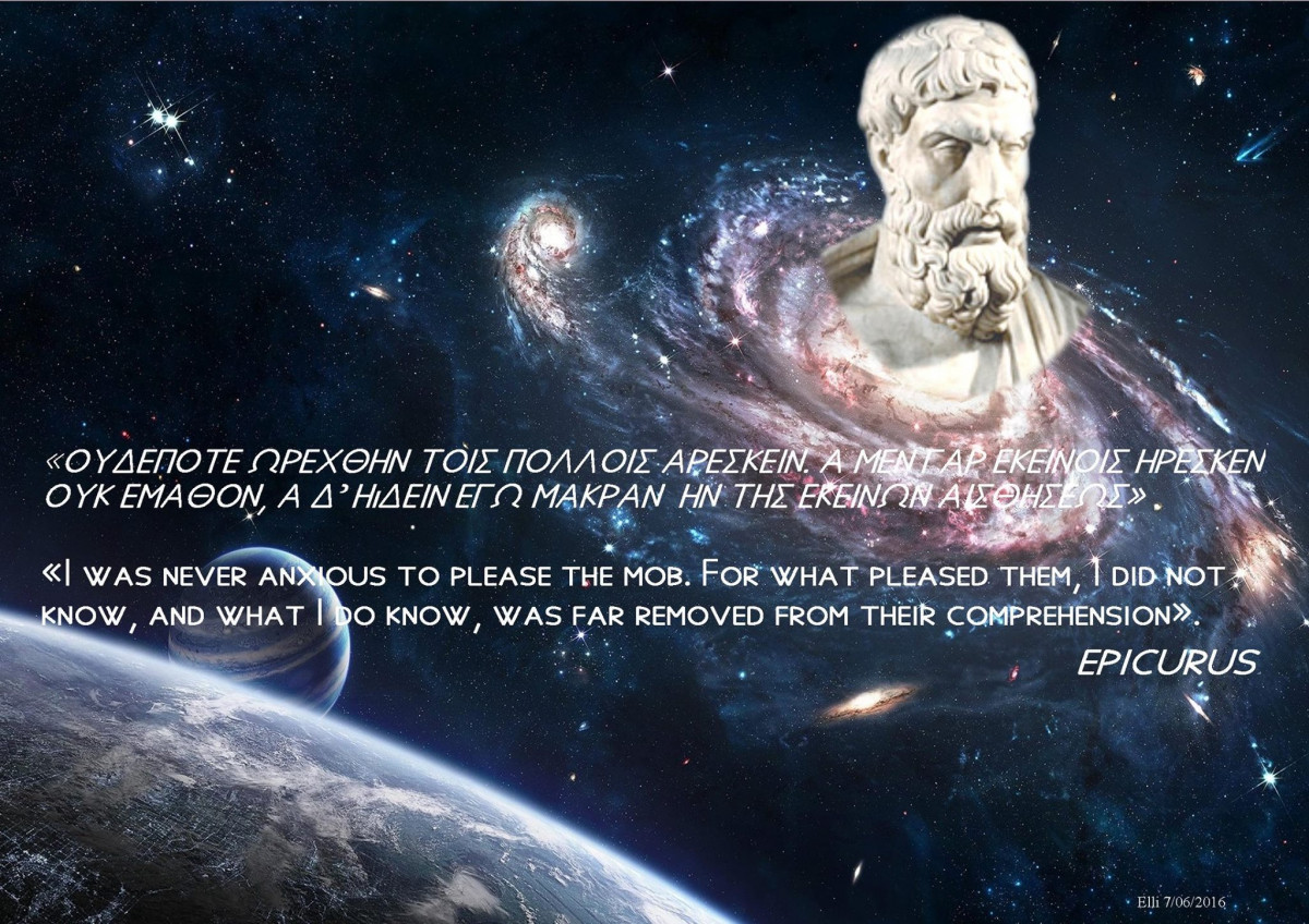 Epicurus On Pleasing the Crowd