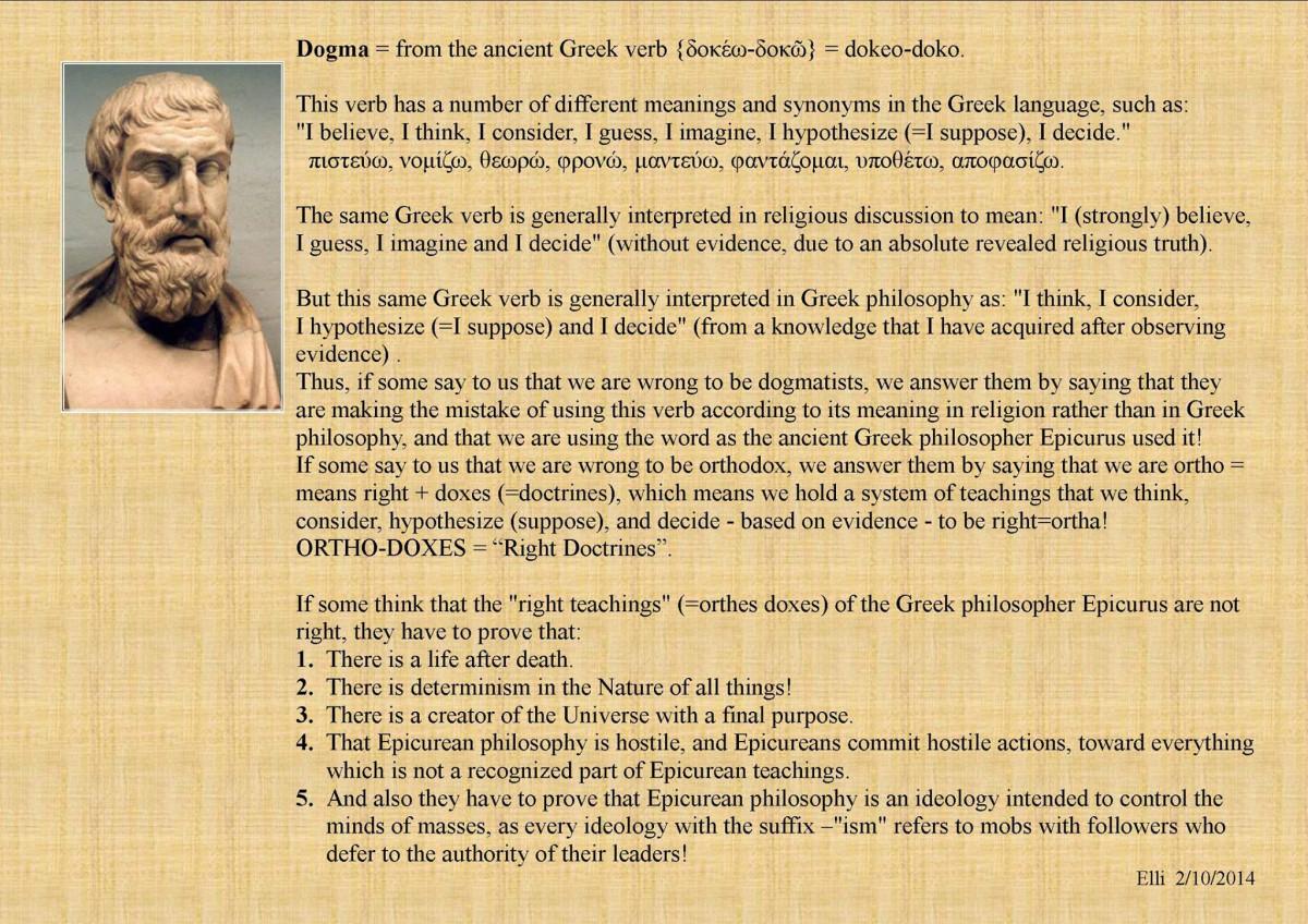 On Dogma